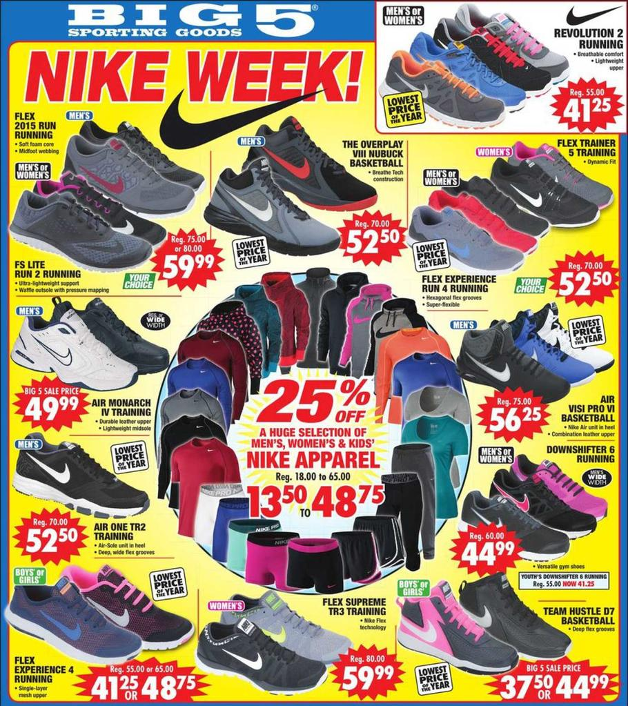 Big 5 Sporting Goods Black Friday Ads Sales Doorbusters