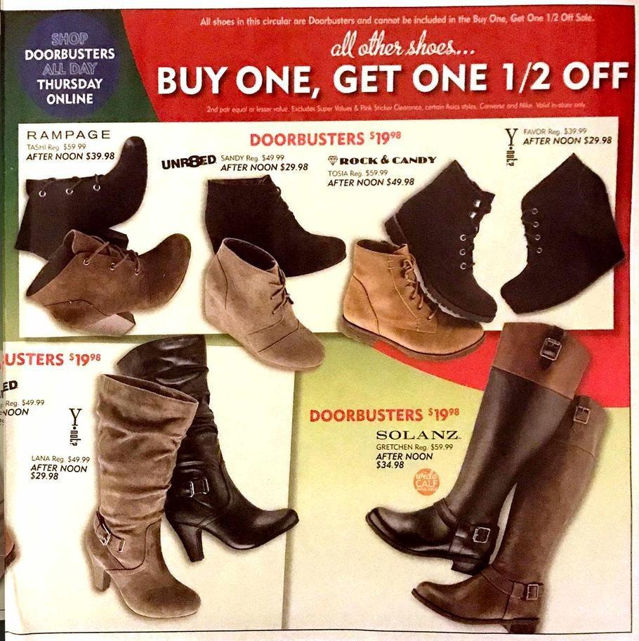 18824af0a6f Shoe Carnival Black Friday Ads, Sales, Deals, Doorbusters 2016 ...
