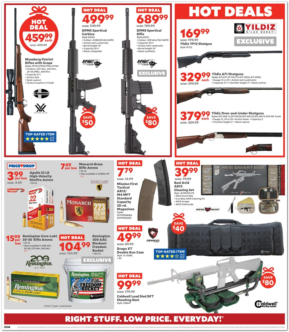 Academy Sports and Outdoors Black Friday Ad 2018