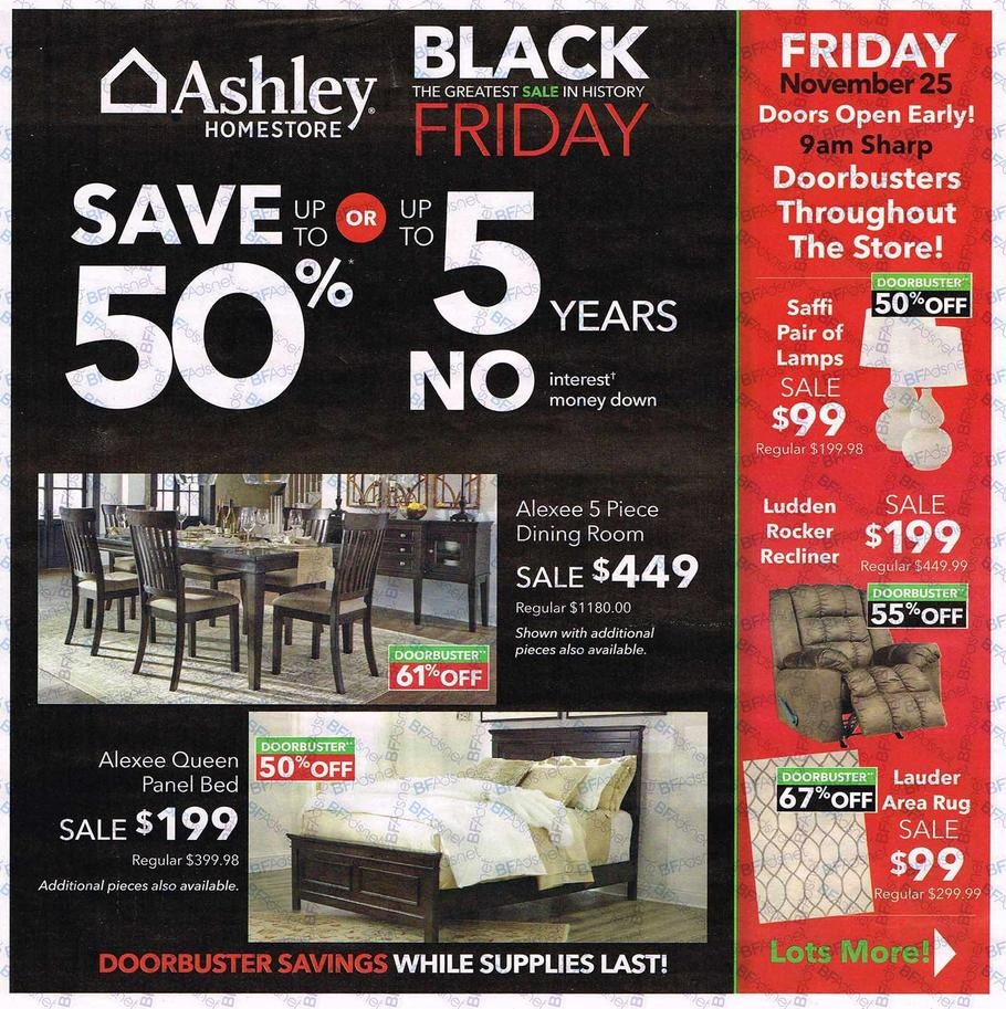 Ashley furniture black friday ads promo codes deals