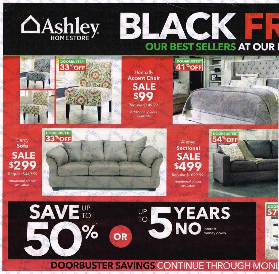 Ashley Furniture Black Friday Ads 2016 Promo Codes Deals