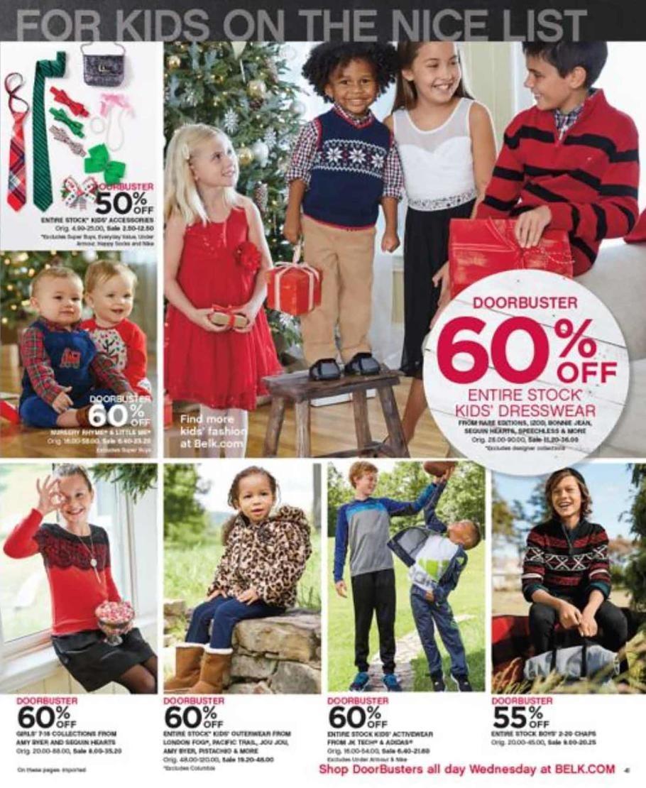 Belk department store coupons