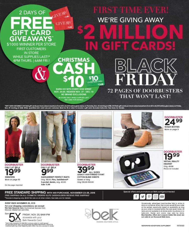 Belk black friday coupons