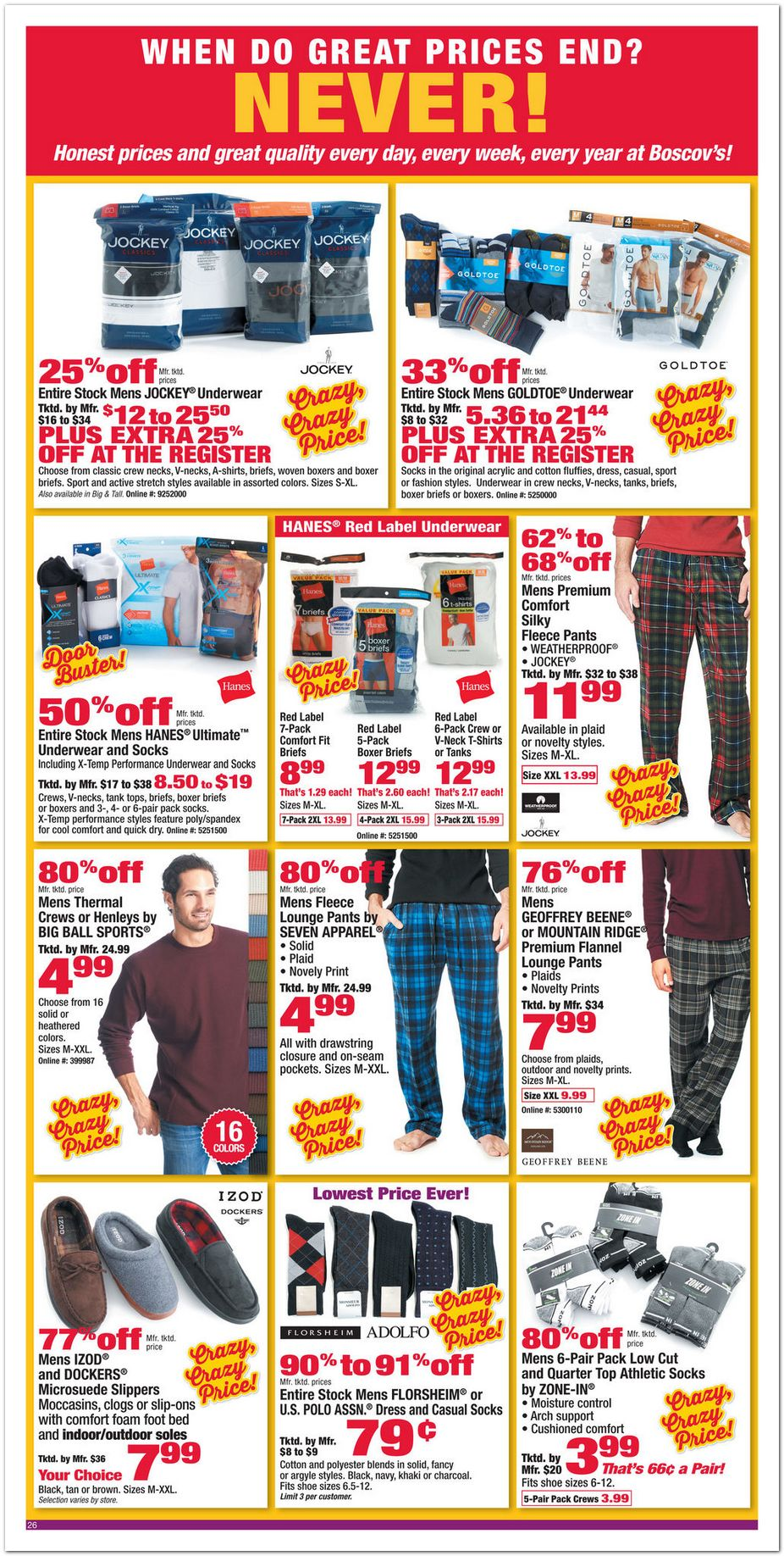 Boscov's in store coupons july 2018