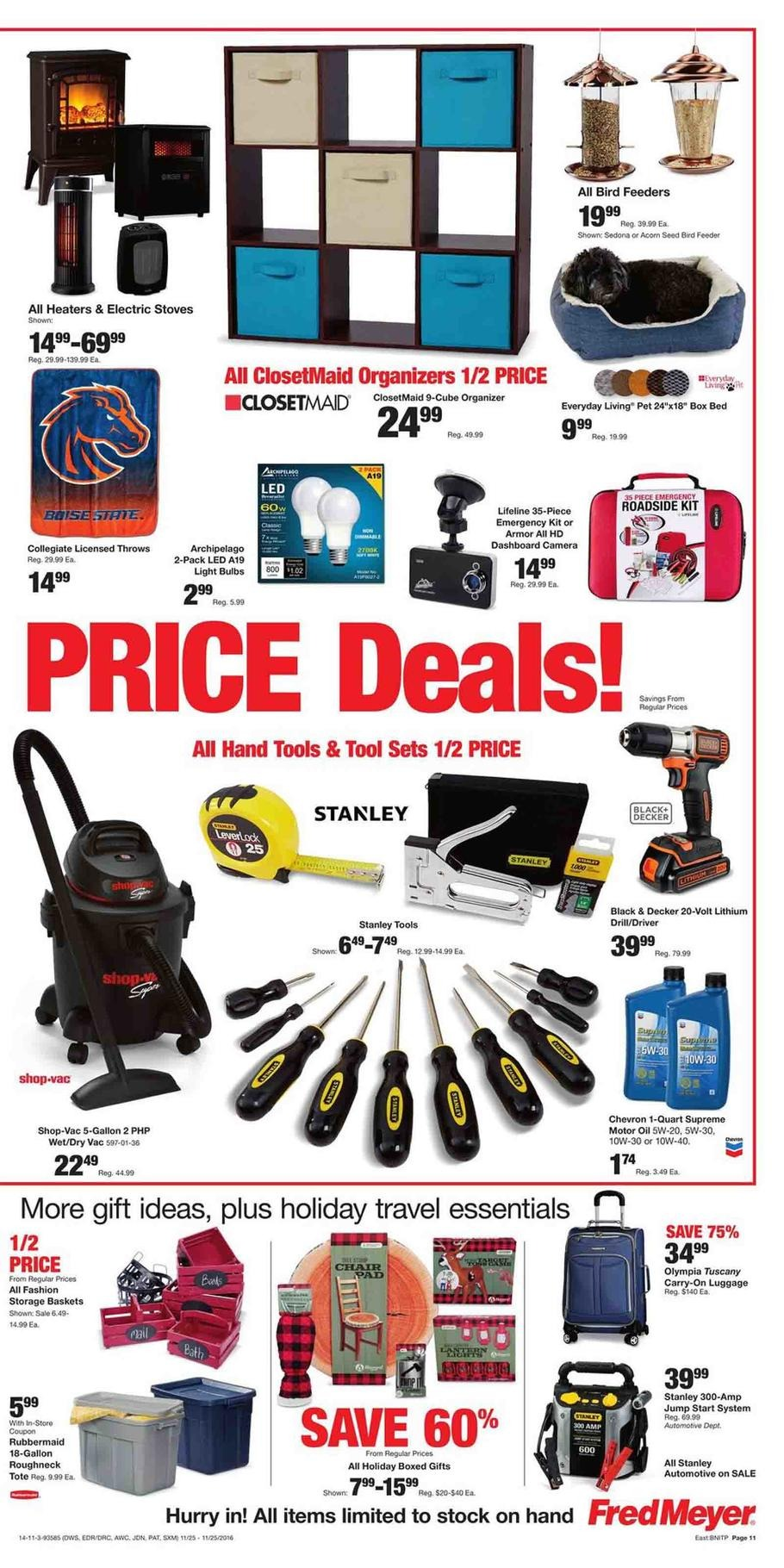 Fred Meyer Black Friday Ads Sales And Deals 2016 2017