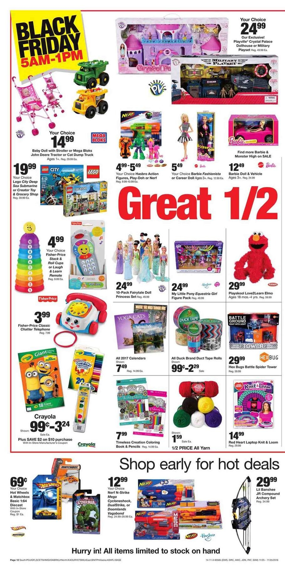 Fred Meyer Black Friday Ads Sales and Deals 2016