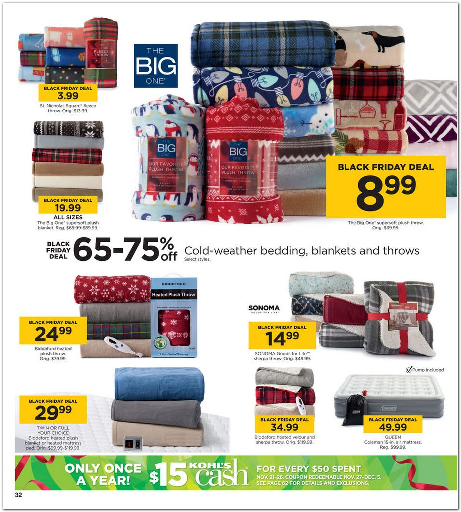 Kohl S Sales This Weekend: Kohls Black Friday Ads Deals And Sales 2016 2017