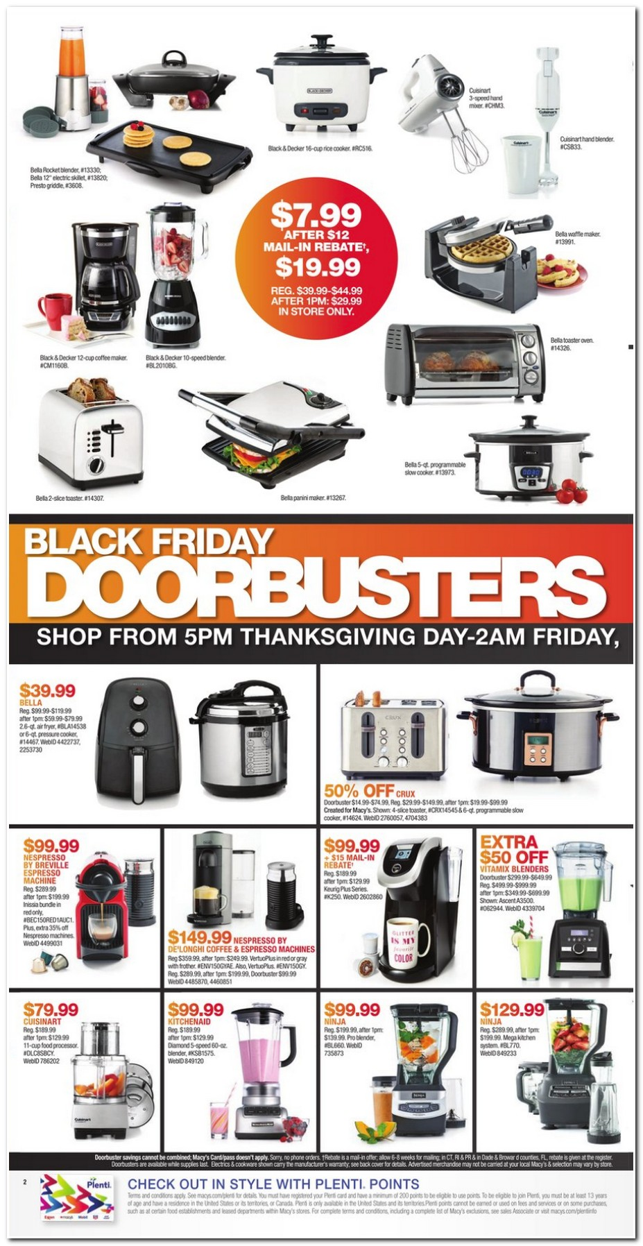 Macy's in store coupon black friday