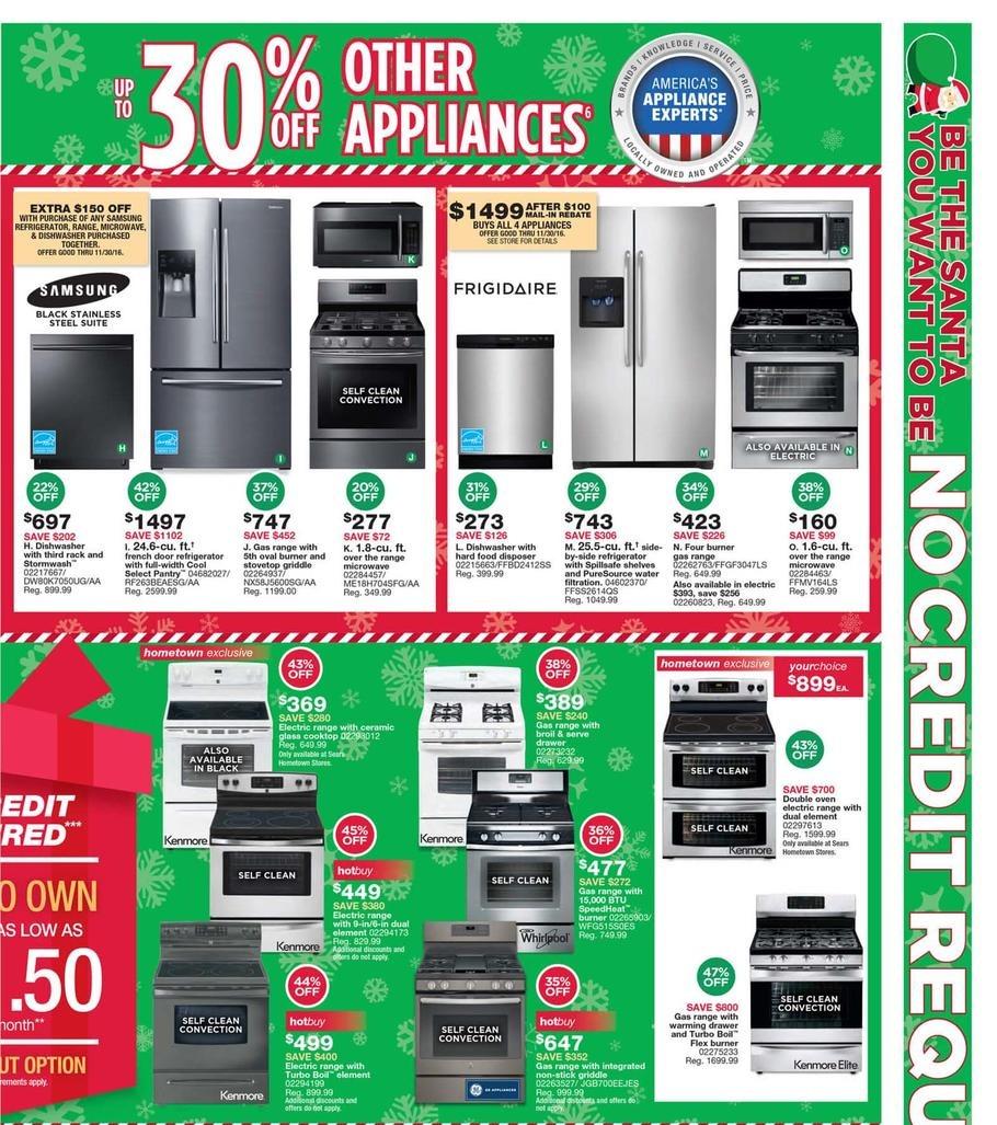Sears Hometown Black Friday Ads Sales Deals Doorbusters