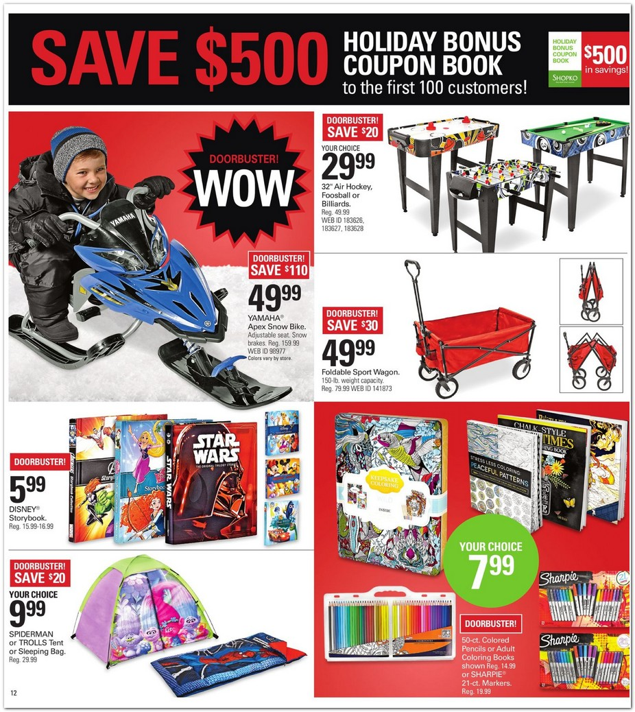 This is a graphic of Universal Shopko Printable Coupon