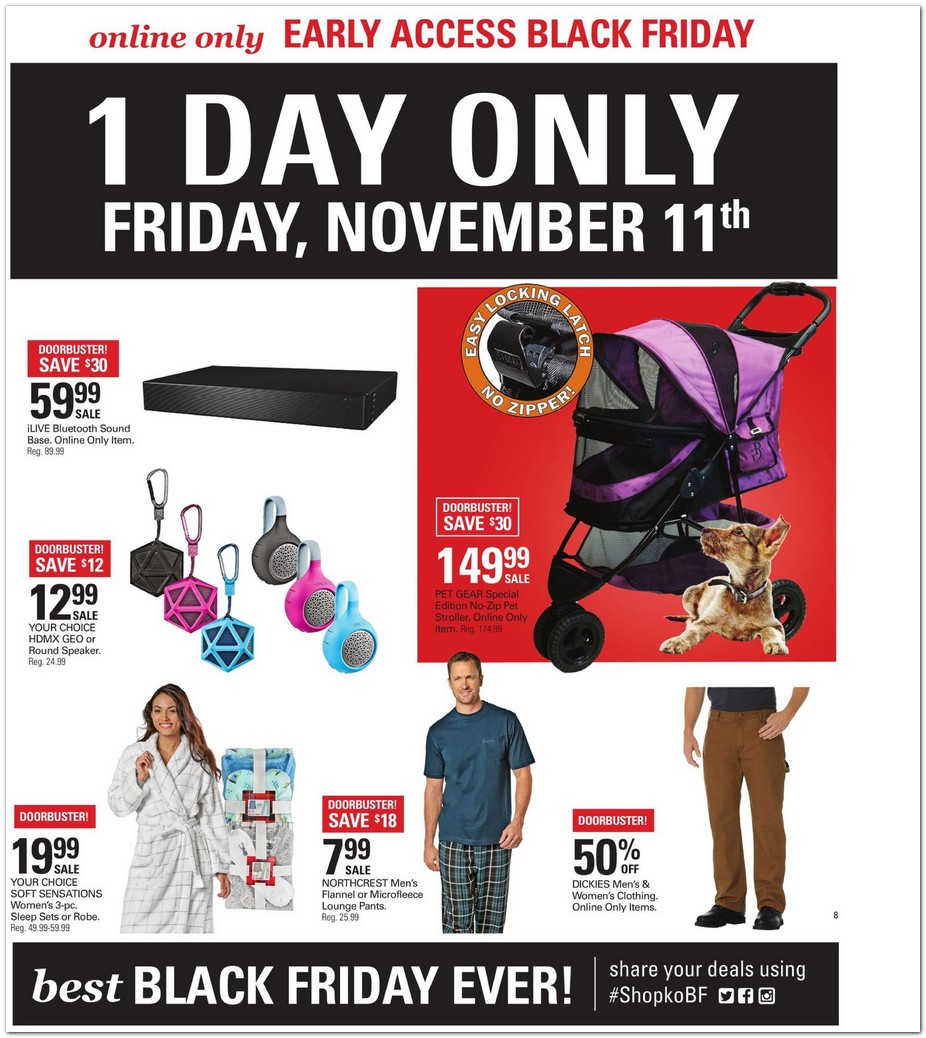 shopko black friday ads sales and deals 2015. Black Bedroom Furniture Sets. Home Design Ideas