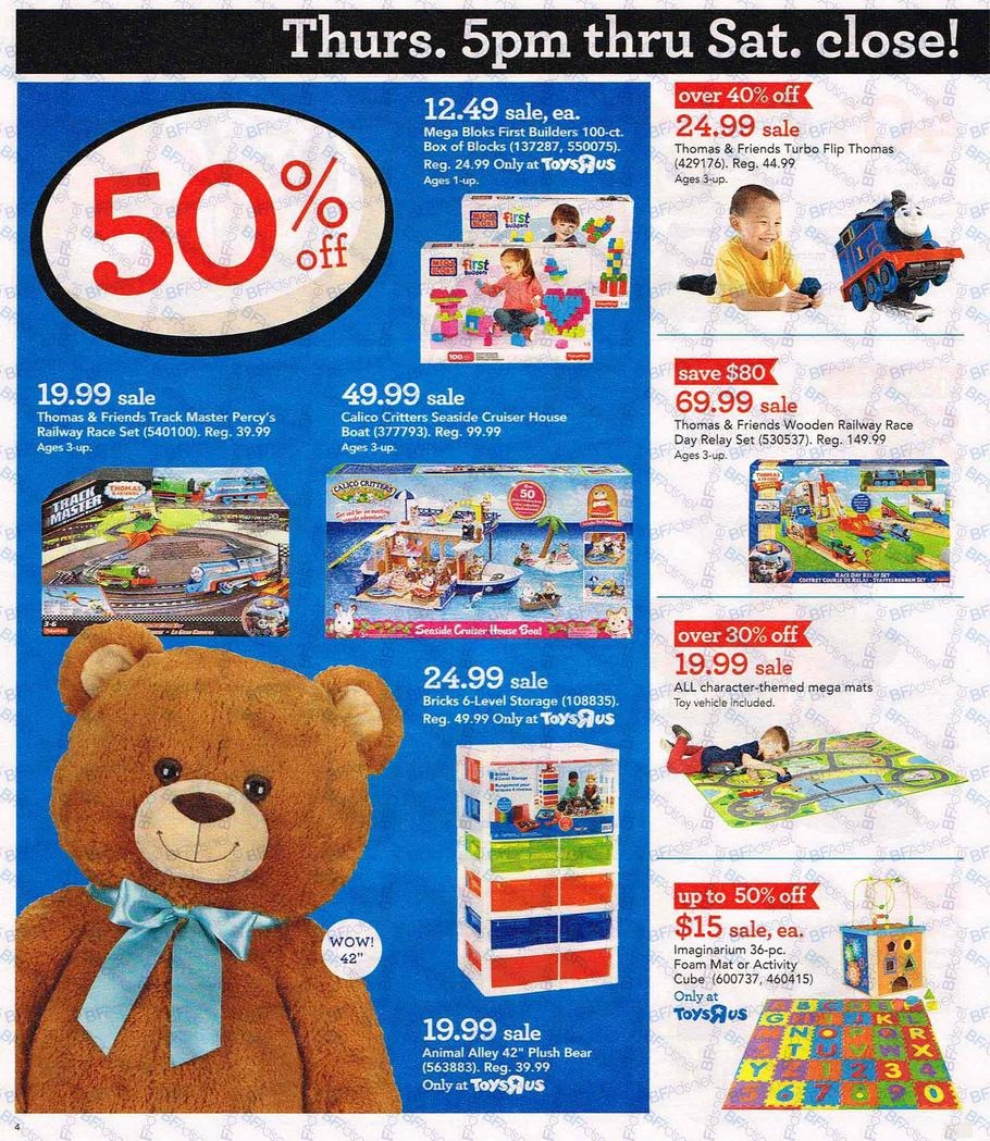 Toys R Us Black Friday Ads Sales And Deals Couponshycom - Toys r us black friday store map 2016