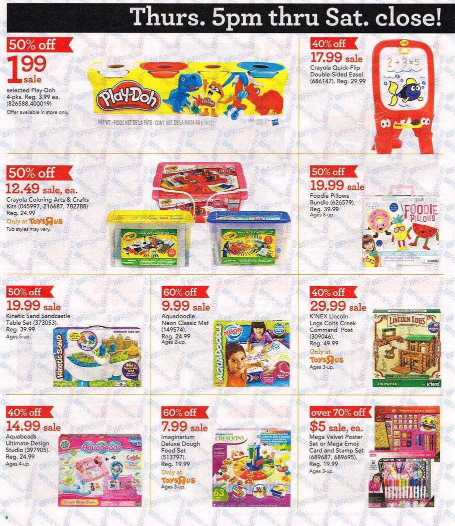 Black Friday Sales Toys 121