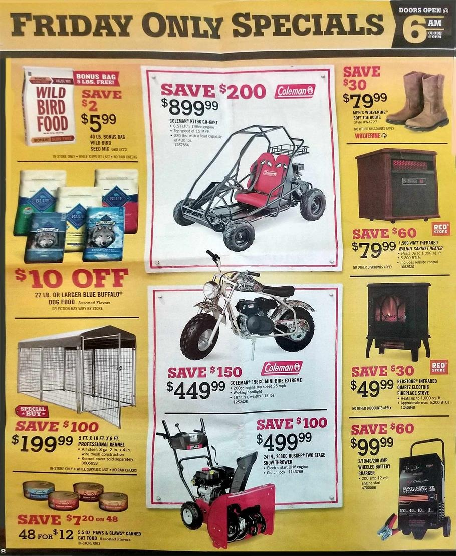 Tractor Supply Black Friday Ads, Sales, And Deals 2017