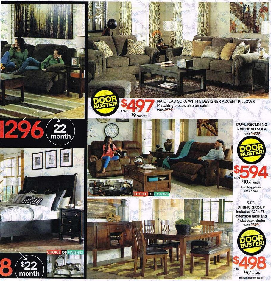 Ashley Furniture Black Friday Ads 2016: Value City Furniture Black Friday Ads, Sales, Deals 2016