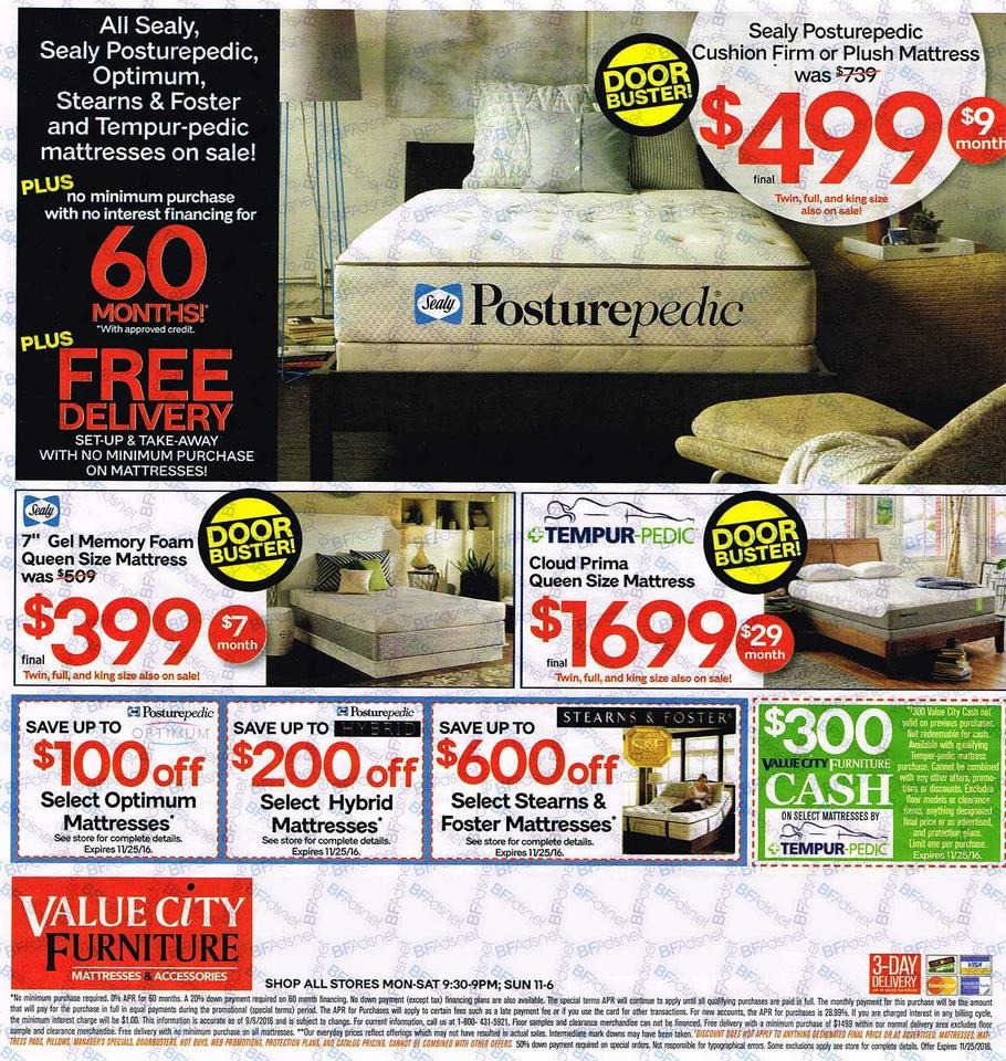 Furniture Stores Black Friday Sales: Value City Furniture Black Friday Ads, Sales, Deals 2016
