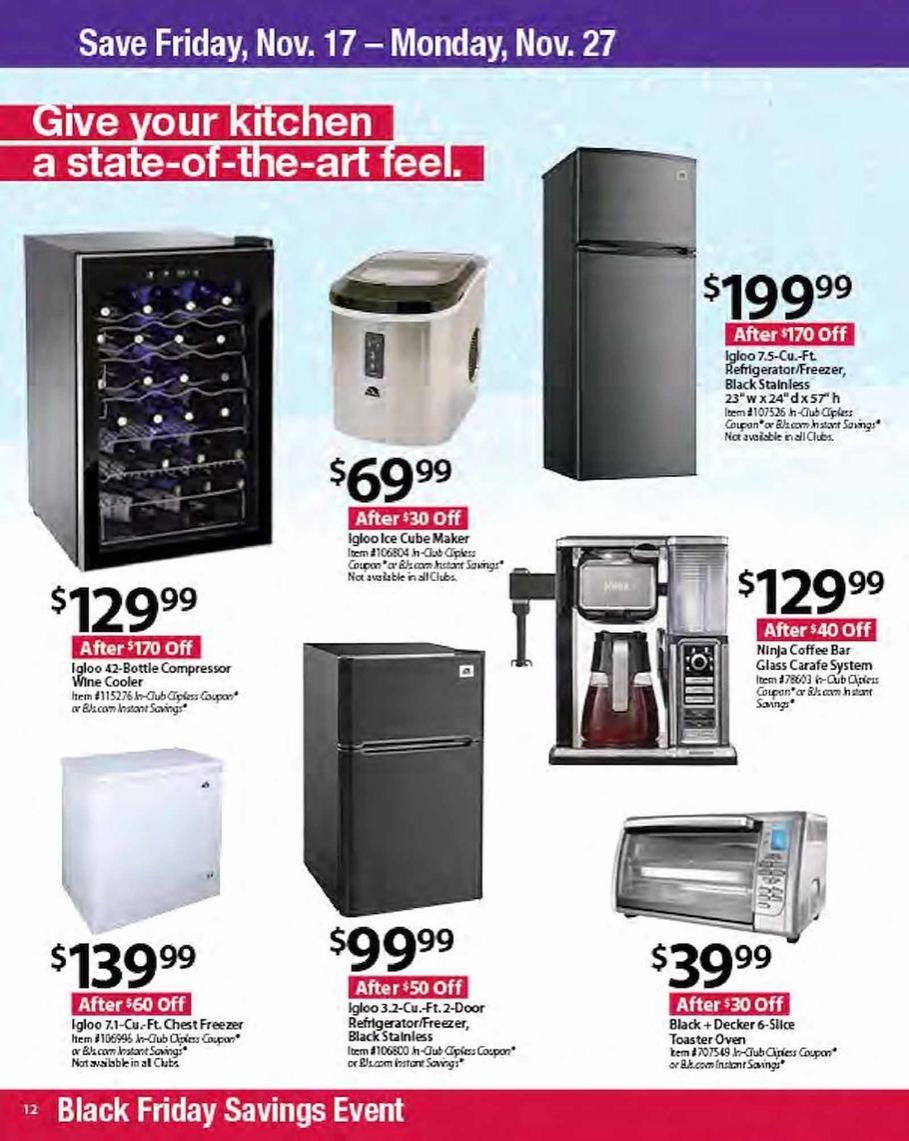 Bj S Wholesale Black Friday Ads Sales Deals 2017 Promo