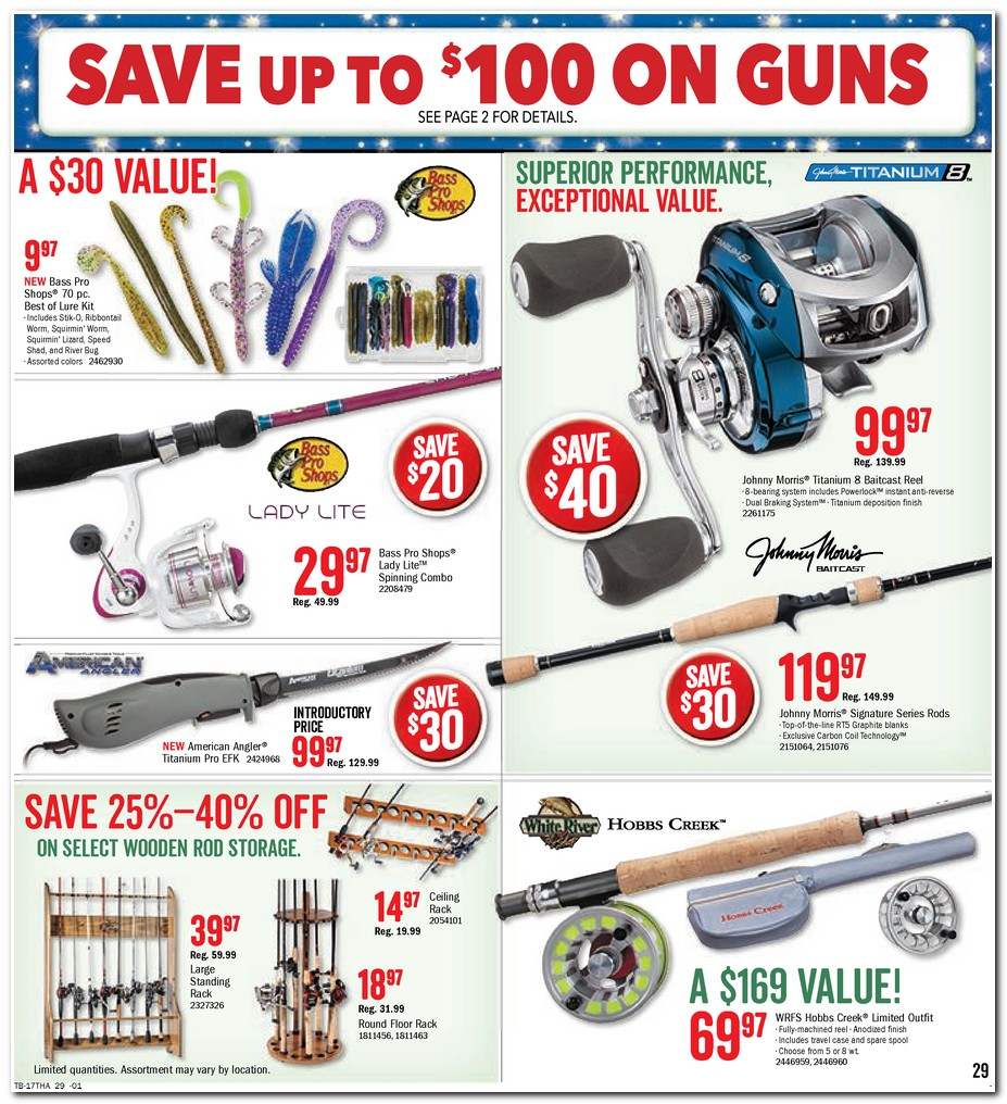 Bass pro shops black friday ads sales doorbusters deals for Black friday fishing deals