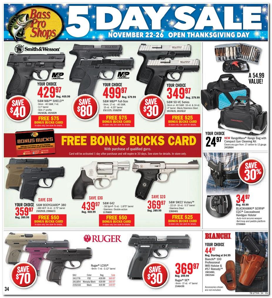 bass pro shop coupons for guns