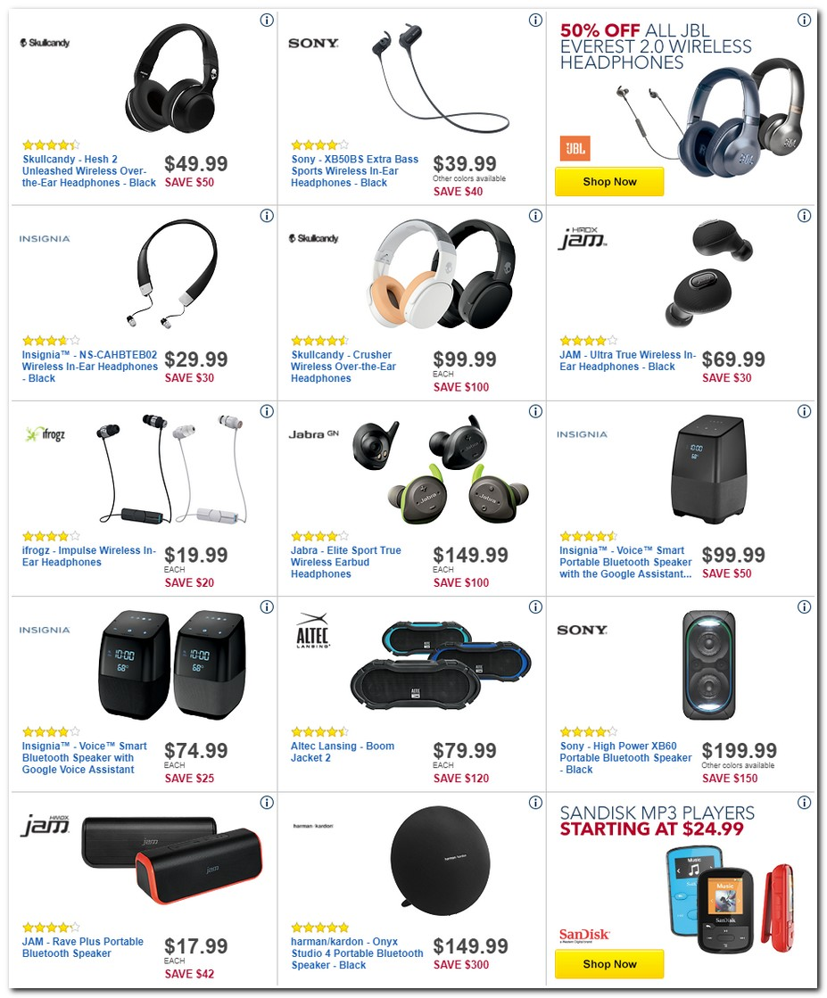 Best Buy Black Friday Ads Sales And Deals 2017 Promo