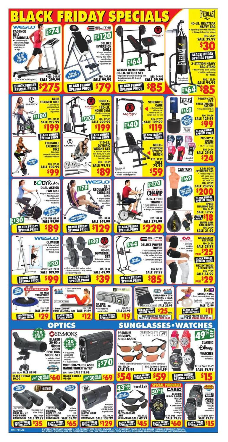 Big 5 Sporting Goods Black Friday Ads Sales Doorbusters