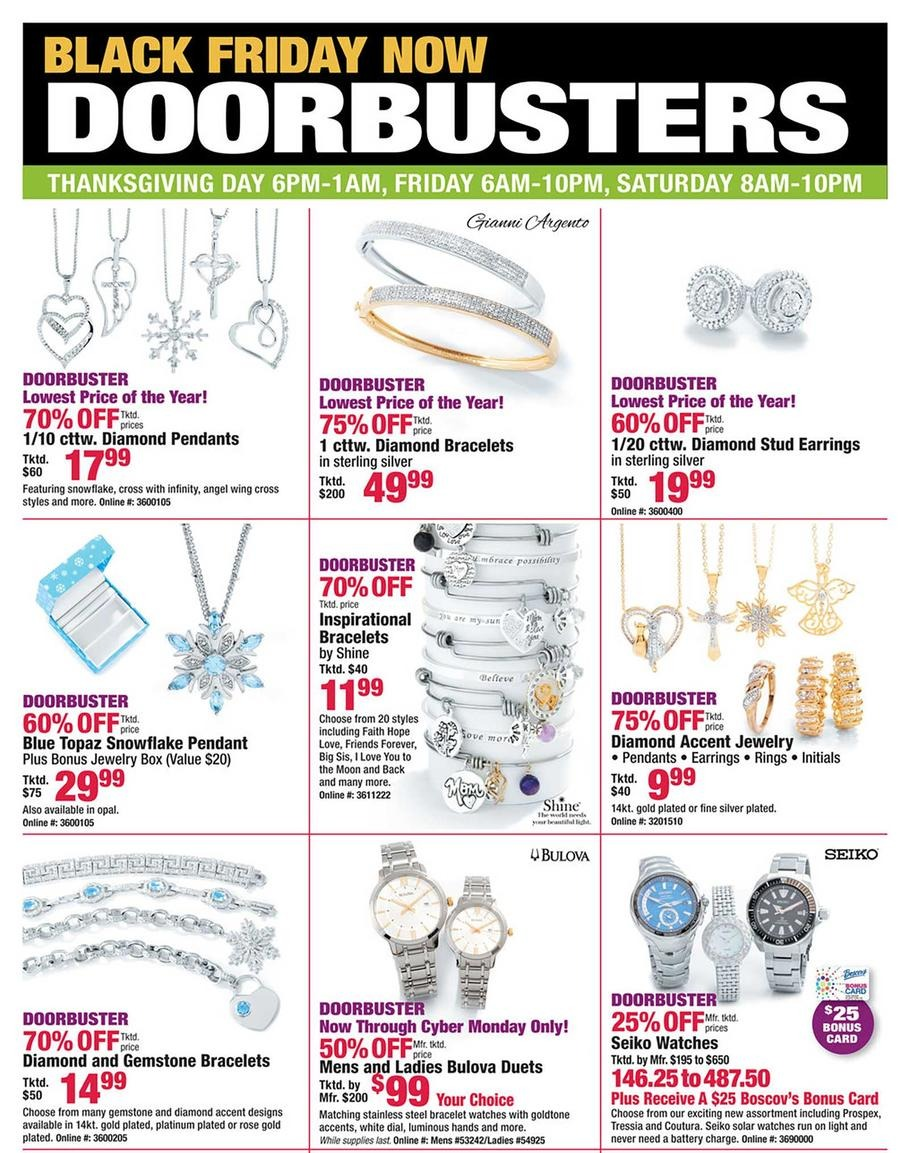 Boscovs Black Friday Ads Sales Deals Doorbusters 2017