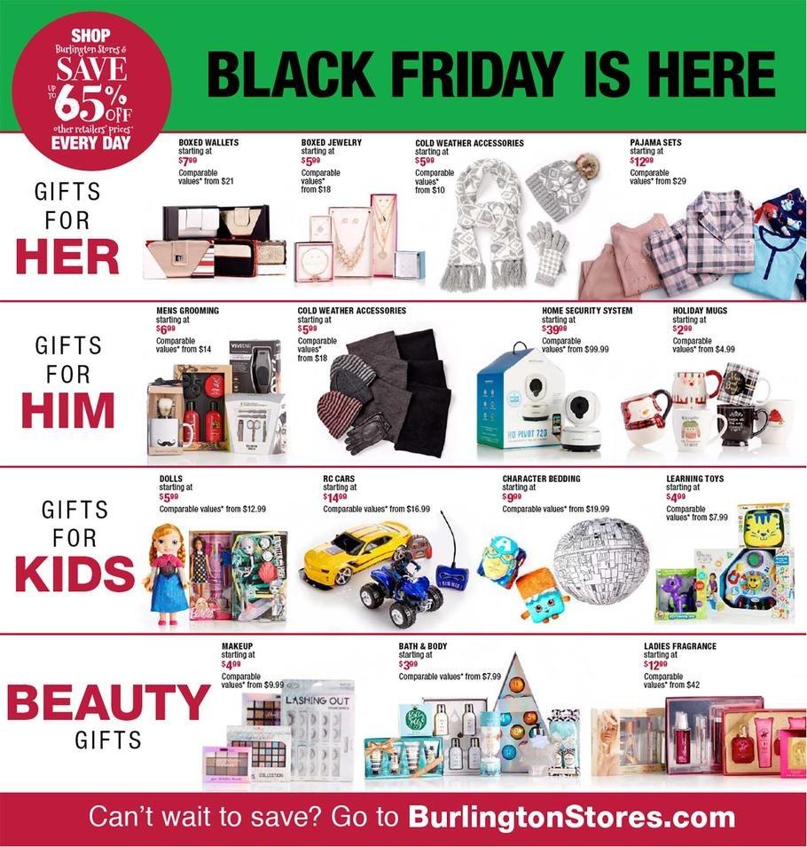 Burlington Black Friday Ads, Sales, Doorbusters and Deals 2017 ...