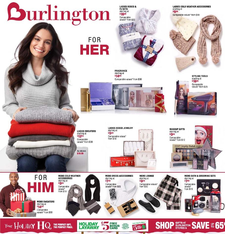 Burlington Updates: The Black Friday ad is now live, and we are not expecting a Cyber Monday circular. Ad Scan: Burlington released a 4-page ad scan to us for Black Friday on November 13, It is very similar to last year/5(2).