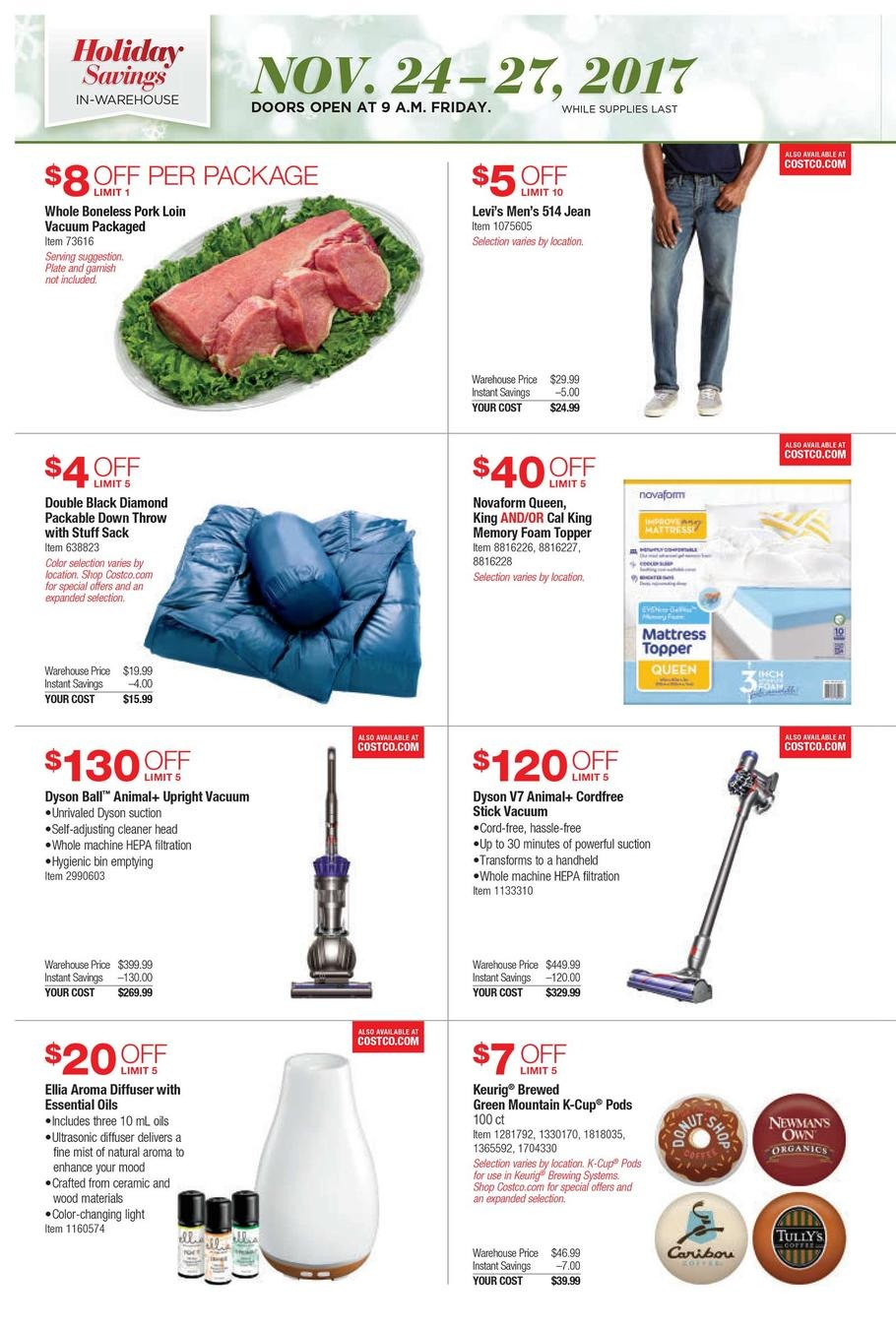 Costco Black Friday Ads, Sales, Doorbusters, and Deals ...