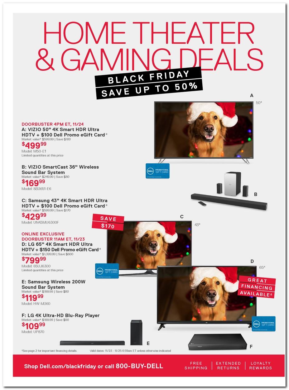 Dell laptop deals black friday 2018