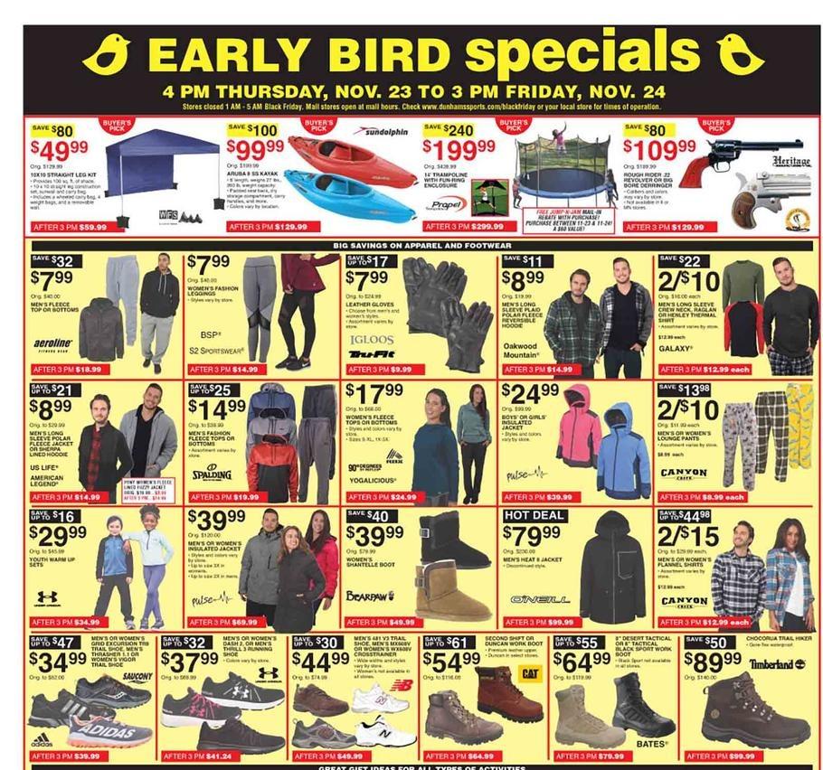 photograph regarding Dunhams Coupons Printable referred to as Dunhams Athletics Black Friday Adverts, Revenue, Discounts, Doorbusters