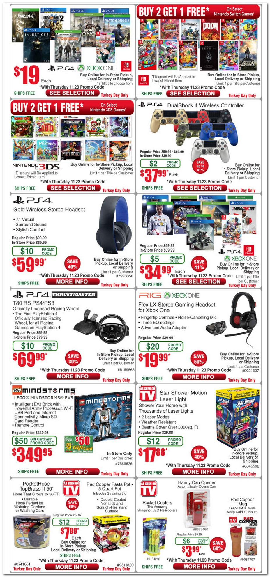 Coupons fry's electronics