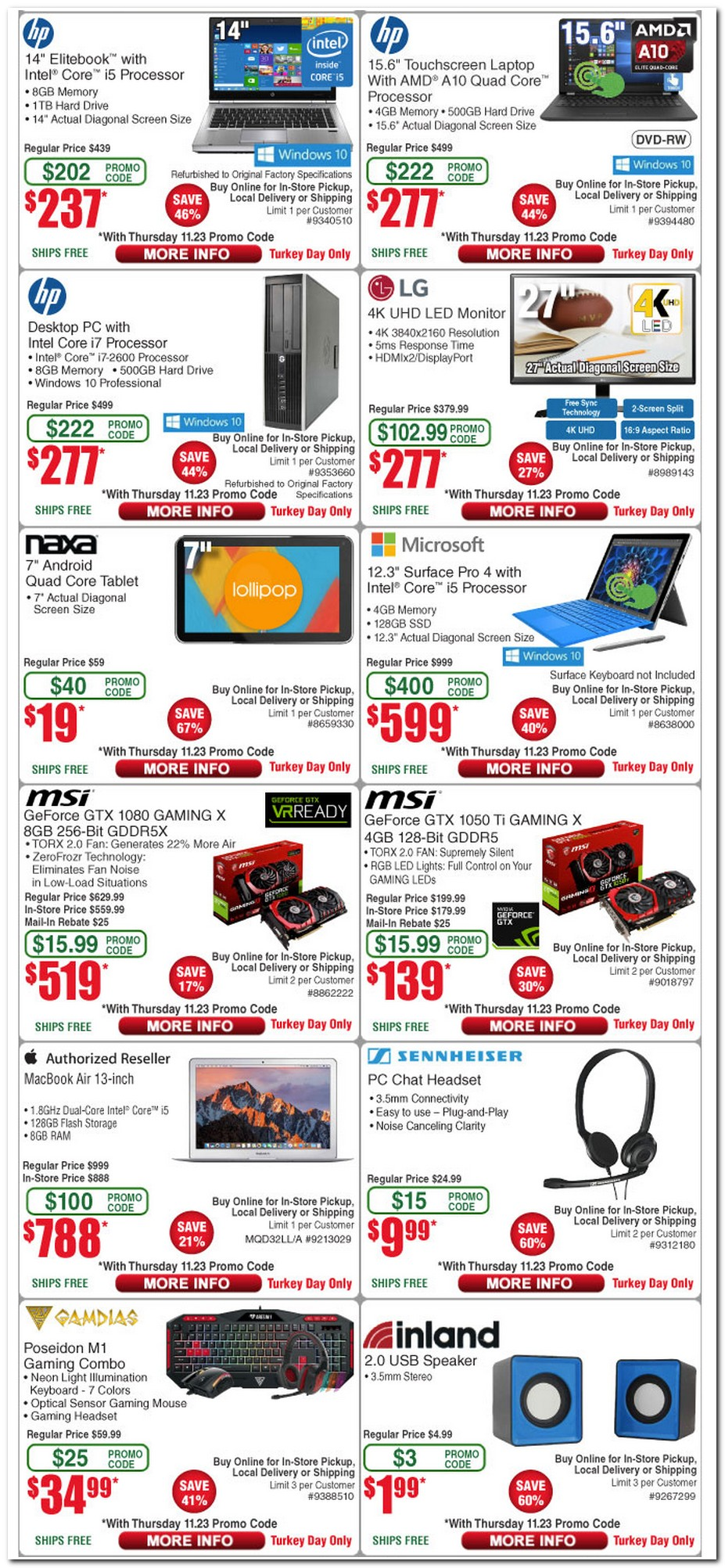 Fry's Electronics Black Friday Deals at tusagrano.ml - Home of Black Friday Fry's was founded as a one-stop-shopping environment for hi-tech professionals, and offers a wide variety of over 50, electronic items in their stores and ecommerce site. Sign up for the BFAds mailing list and be the first to know when the ads leak.