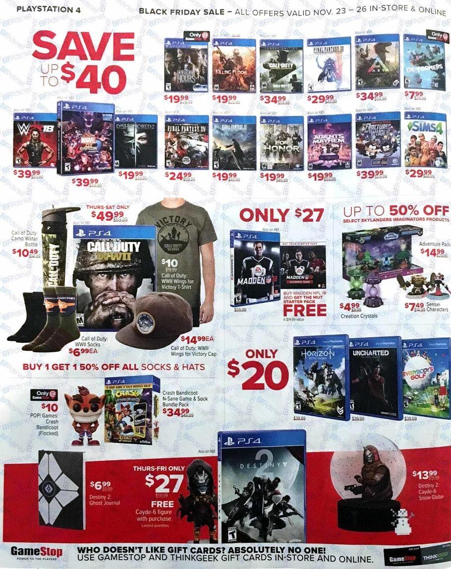 Gamestop coupons ps4