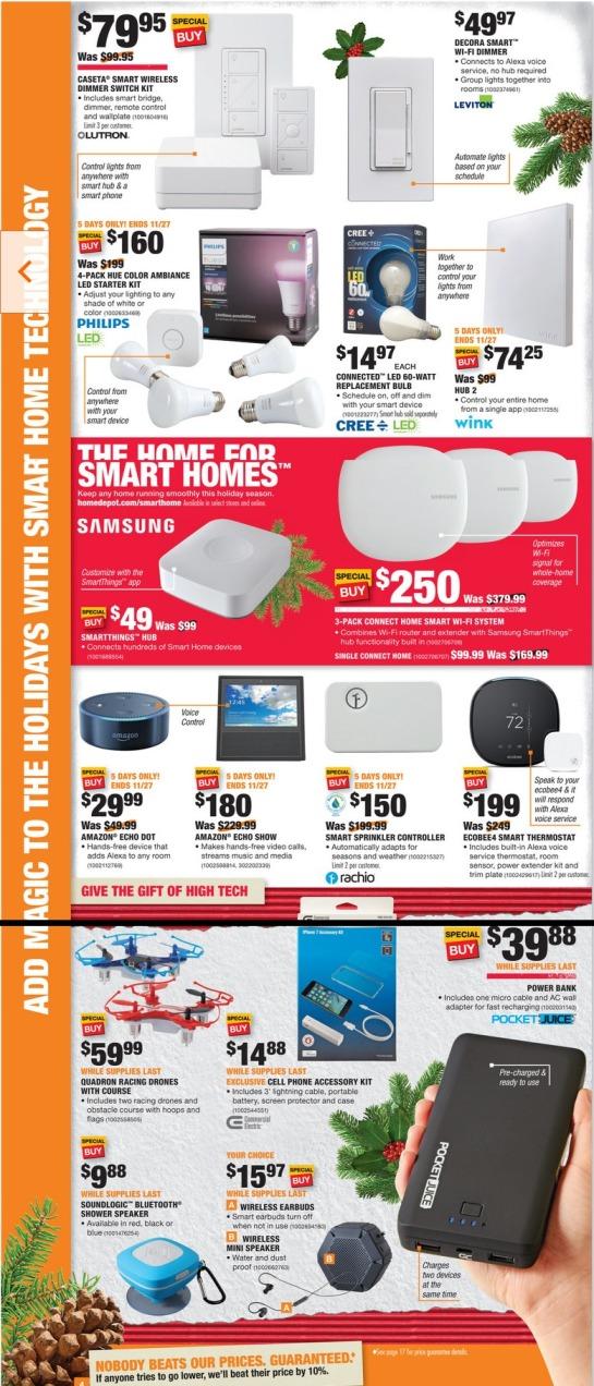 Home Depot Black Friday Ads Sales Deals Doorbusters 2017