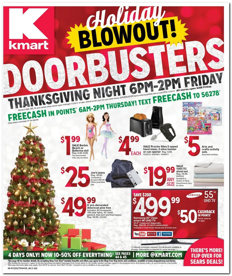 Complete coverage of Kmart Black Friday Deals Kmart Black Friday Doorbuster Deals. Prices are valid only during Black Friday Sale.
