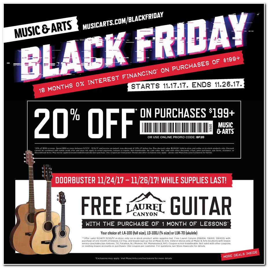 music art black friday ads doorbusters sales deals 2017 promo codes deals 2018 couponshy. Black Bedroom Furniture Sets. Home Design Ideas