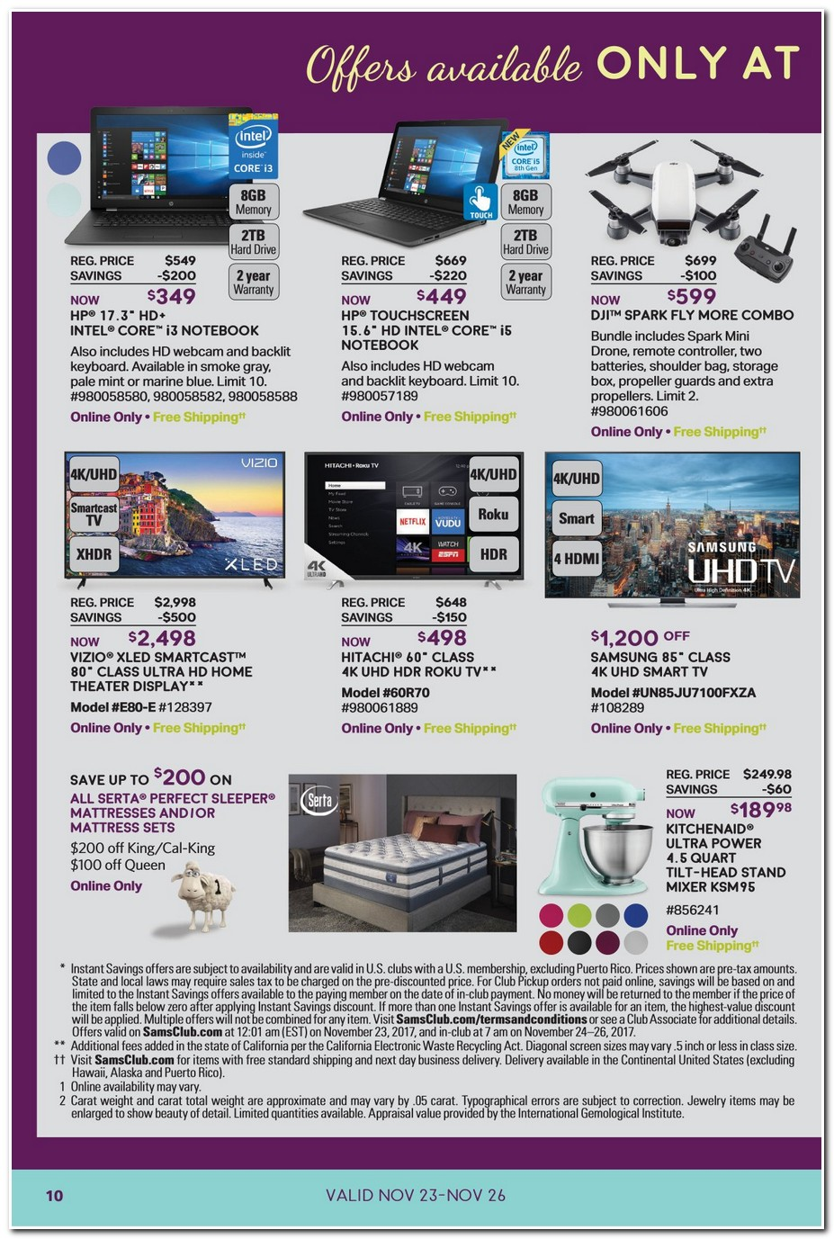 Sam S Club Black Friday Ads Sales And Deals 2017 Promo