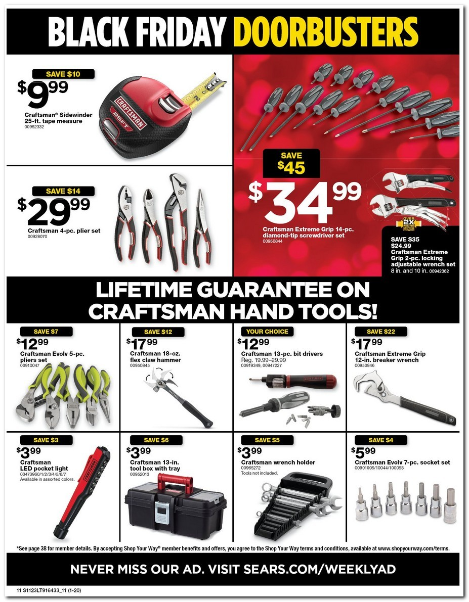 Sears Black Friday Ads, Sales, and Deals 2017 2017 ...