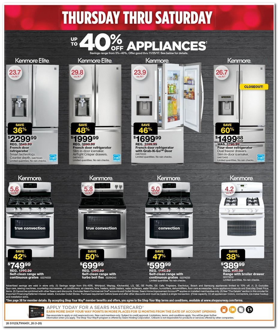 Sears is a long-standing retail leader for a variety of goods, including home appliances, household and garage tools, lawn and garden equipment and accessories, electronics, home fashions, and stylish clothing for the entire family.