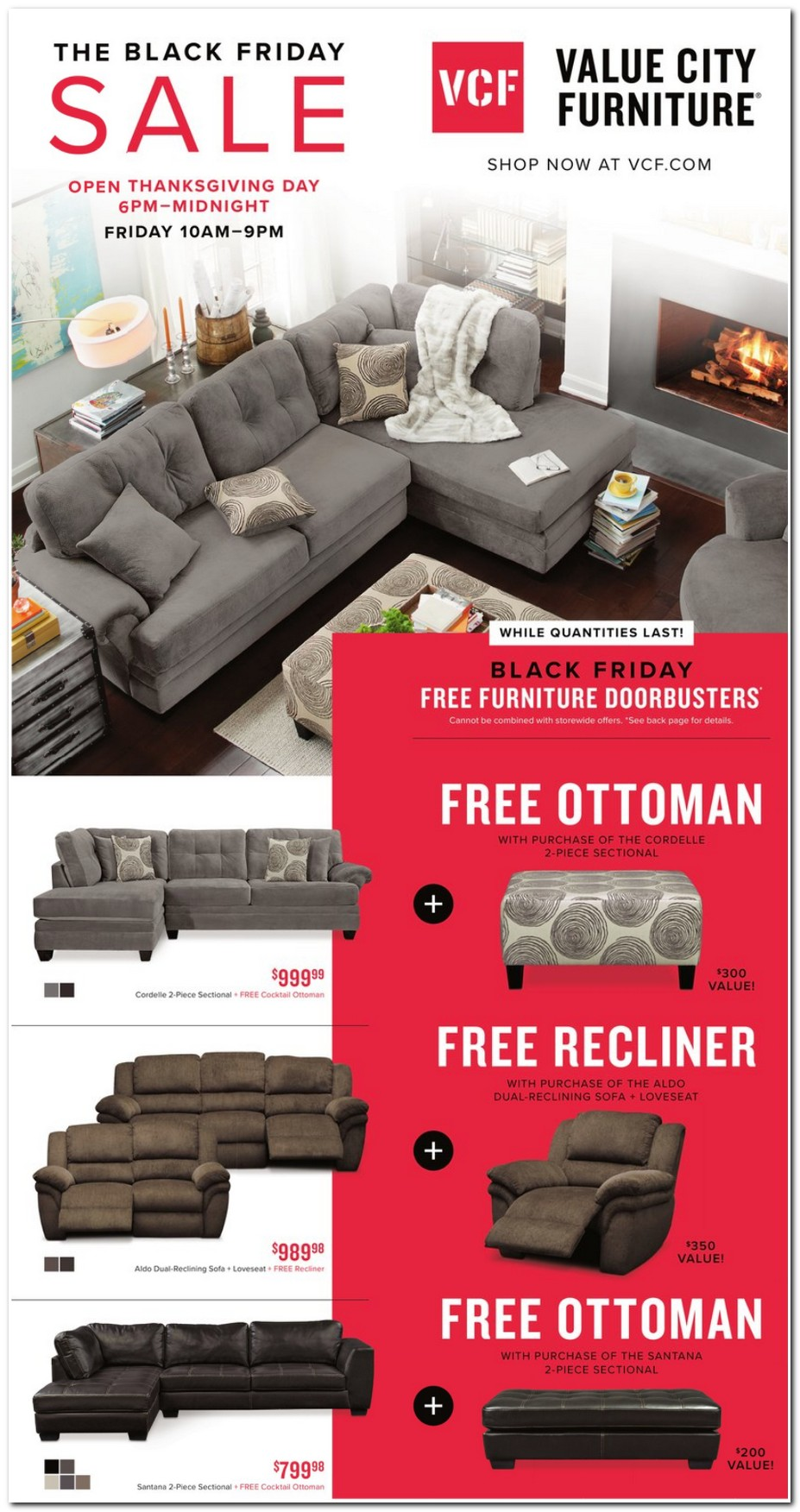 Value City Furniture Black Friday Ads Sales Deals 2017