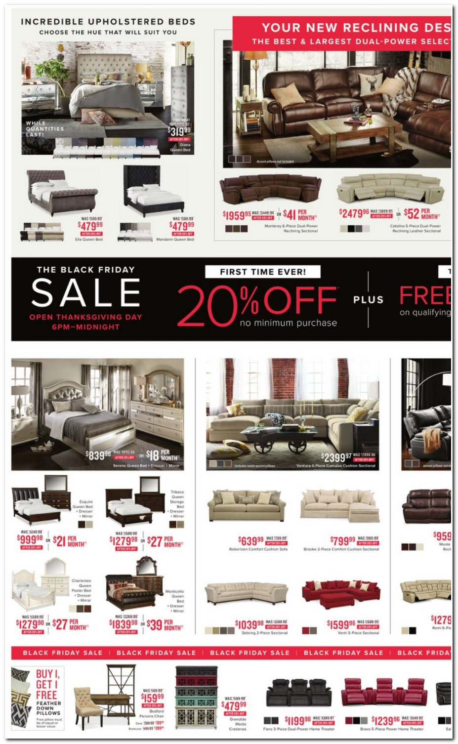 Click Here To Shop For Value City Furniture Black Friday Deals Online