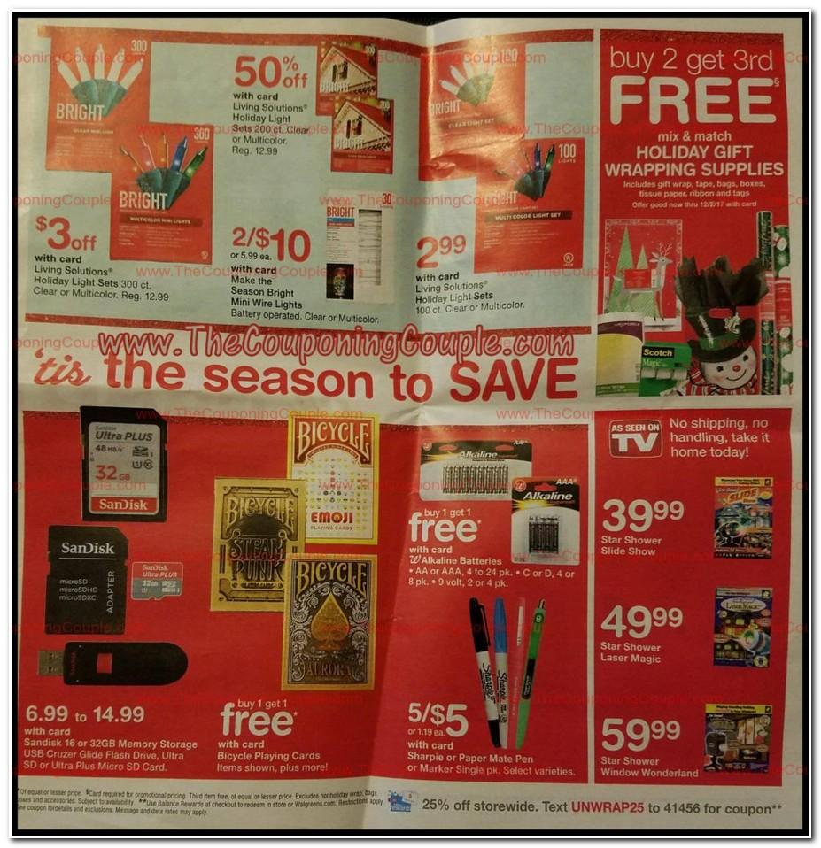 Walgreens black friday coupon deals 2018