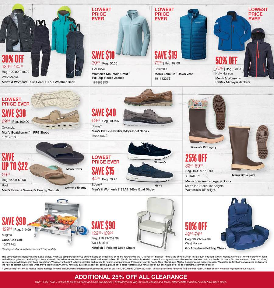 Jan 01,  · West Marine Black Friday Ads Doorbusters Sales Deals West Marine Black Friday Ads will allow you to check out the West Marine Doorbusters sales discounts specials so you can purchase the best savings of all year West Marine is a boating and fishing supply company based in Watsonville, California.5/5(3).