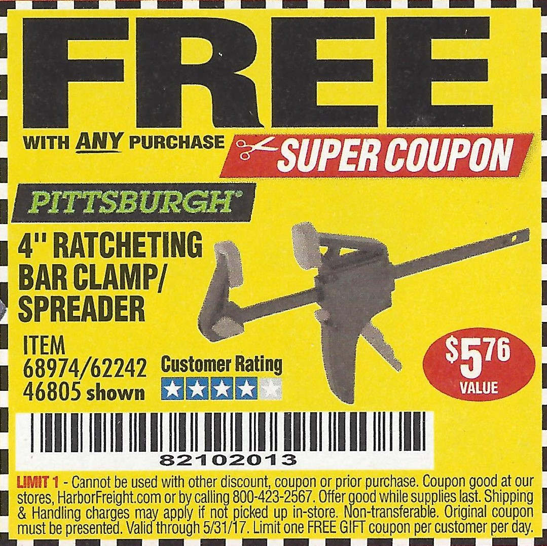 Coupon code harbor freight