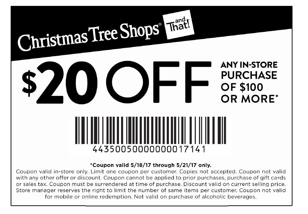 Christmas Tree Shop Printable Coupons Paper Mart Coupons Online
