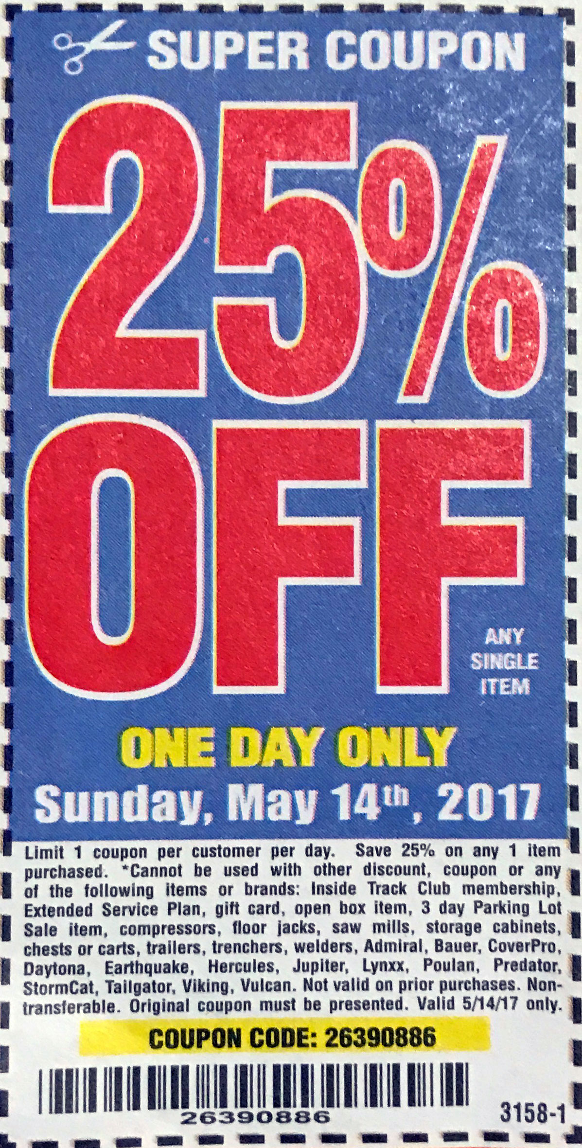 Harbor freight 20 coupon printable 2018