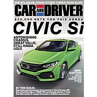 5767584 - Car & Driver $3 per year (when you buy 4 years) for $12