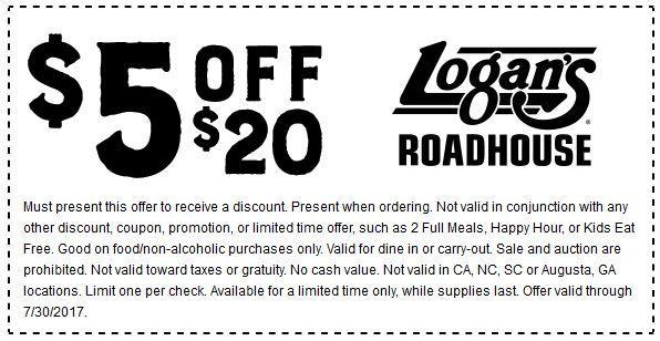 photo regarding Texas Roadhouse Printable Coupons titled Logans roadhouse discount coupons oct 2018 / Amazon discount coupons
