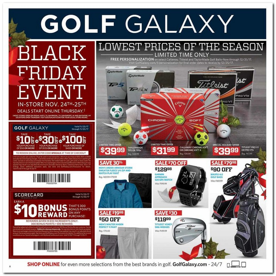 Home Decorators Collection Coupons Promo Codes Deals: Golf Galaxy Black Friday Ads Sales Deals Doorbusters 2017
